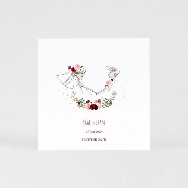 save-the-date-met-bruidspaar-en-bloemenkrans-TA0111-1900003-03-1