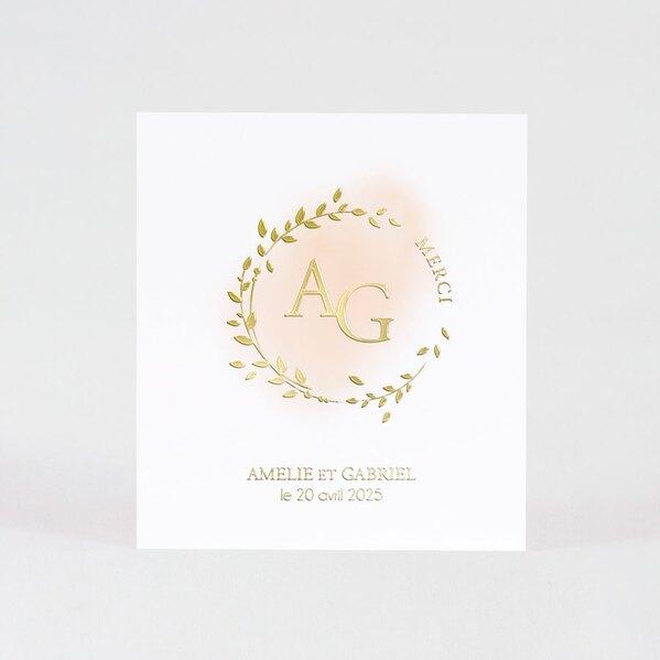 carte-remerciement-mariage-couronne-de-feuillage-en-aquarelle-et-photo-TA0117-1900040-02-1