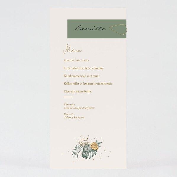 tropische-menukaart-met-naamkaartje-en-gouden-paperclip-TA0120-2000001-03-1