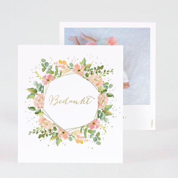 geboorte-bedankkaartje-met-kleurrijke-bloemenkrans-en-goudfolie-TA0517-2000005-03-1