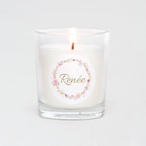 ronde-naamsticker-doopsuiker-met-bloemenkrans-roze-3-7-cm-TA05905-2000102-03-1