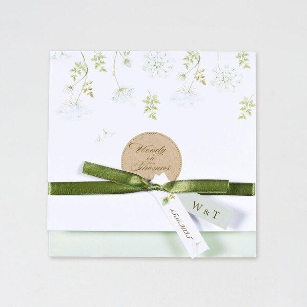 trouwkaart-groene-bloemen-met-ecolook-buromac-108008-TA108-008-03-1