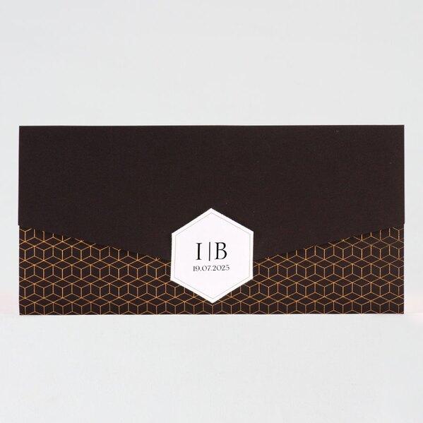 pochette-trouwkaart-zwart-met-trendy-gouden-motief-buromac-108066-TA108-066-03-1