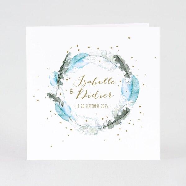 faire-part-mariage-couronne-de-plumes-bleues-buromac-108097-TA108-097-02-1