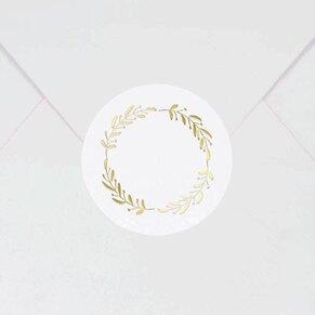ronde-sluitzegel-met-bloemenkrans-in-koperfolie-TA178-102-03-1
