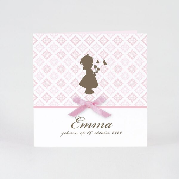lief-roze-kaartje-met-silhouet-meisje-en-strikje-buromac-584092-TA584-092-03-1