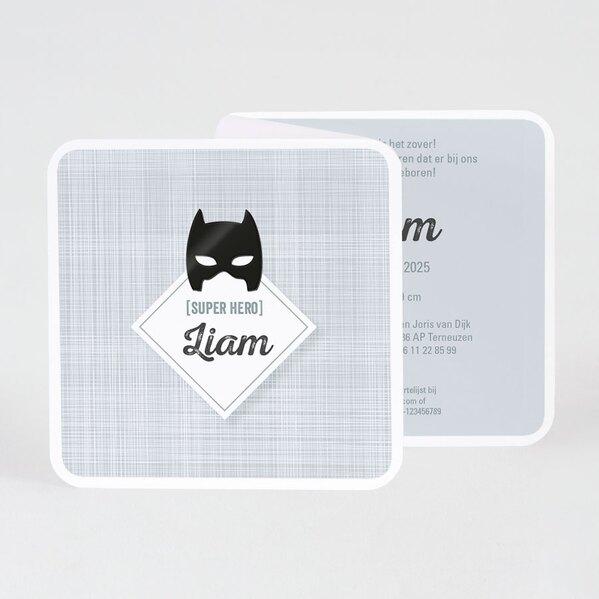 stoer-geboortekaartje-met-batmanmasker-buromac-589017-TA589-017-03-1