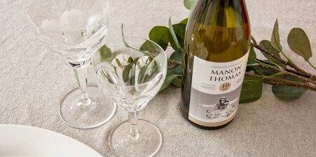 Wijnfles etiketten
