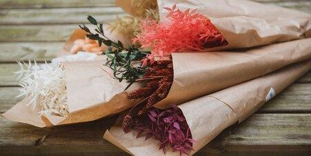 NEW - Bouquet Fleurs Sechées