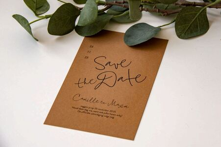 Save the date mariage